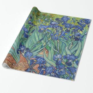 Iris de Van Gogh Papel De Regalo