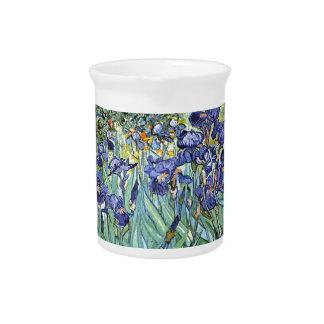 Iris de Vincent van Gogh 1898 Jarra Para Bebida