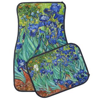 Iris de Vincent van Gogh Alfombrilla De Auto