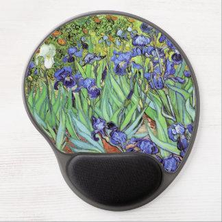 Iris de Vincent van Gogh Alfombrillas De Raton Con Gel