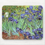 Iris de Vincent van Gogh Alfombrillas De Ratones