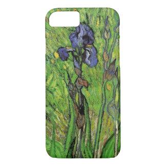 Iris de Vincent van Gogh, bella arte del jardín Funda iPhone 7