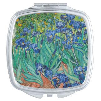 Iris de Vincent van Gogh Espejos Maquillaje