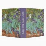 Iris de Vincent van Gogh, flores del jardín del