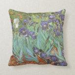 Iris de Vincent van Gogh, flores del jardín del Cojin