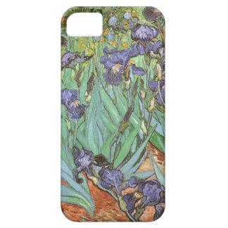 Iris de Vincent van Gogh flores del jardín del iPhone 5 Carcasa