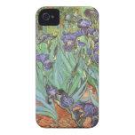 Iris de Vincent van Gogh, flores del jardín del Case-Mate iPhone 4 Cobertura