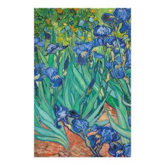 Iris de Vincent van Gogh Tarjetones