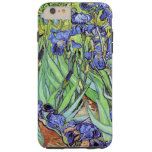 Iris de Vincent van Gogh Funda De iPhone 6 Plus Tough