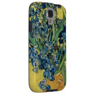 Iris de Vincent van Gogh Funda Para Galaxy S4