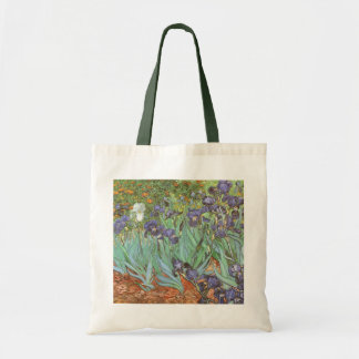 Iris de Vincent van Gogh, impresionismo del Bolsa Tela Barata