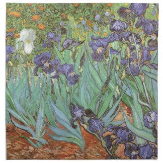 Iris de Vincent van Gogh, impresionismo del Servilletas De Papel