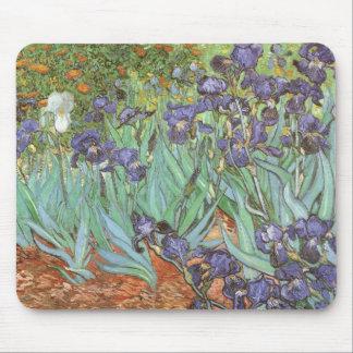 Iris de Vincent van Gogh, impresionismo del Alfombrilla De Ratón