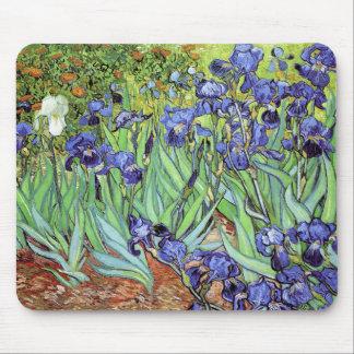 Iris de Vincent van Gogh Mouse Pad