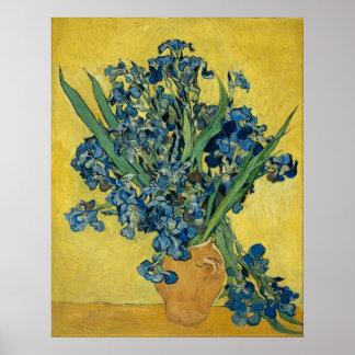 Iris de Vincent van Gogh Impresiones
