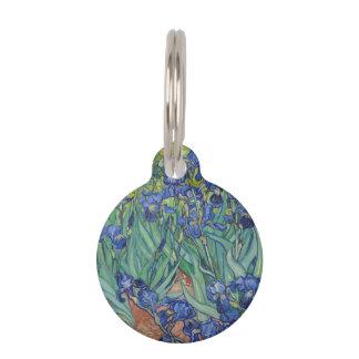 Iris de Vincent van Gogh Placas De Mascota