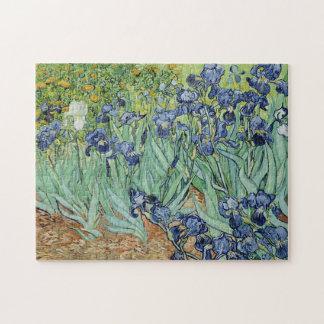 Iris de Vincent van Gogh Puzzles Con Fotos