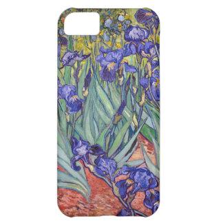 Iris de Vincent van Gogh que pintan la impresión d Funda Para iPhone 5C