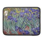 Iris de Vincent van Gogh que pintan la impresión d Fundas Macbook Pro