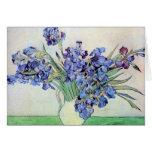 Iris de Vincent van Gogh Tarjeta Pequeña