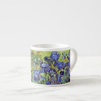 Iris de Vincent van Gogh Taza Espresso