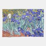 Iris de Vincent van Gogh Toalla De Cocina