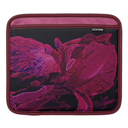 Iris Deep Magenta Glow iPad Sleeve