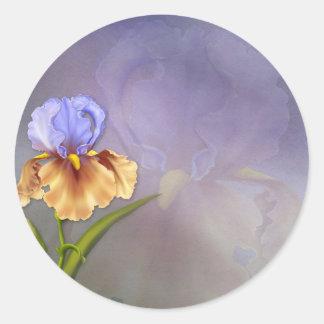 Iris Dream Classic Round Sticker