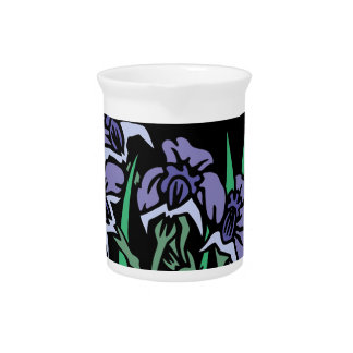 Iris Drink Pitcher