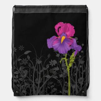 Iris * elija el color de fondo mochilas