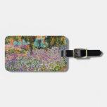 Iris en el jardín de Monet Etiquetas De Maletas