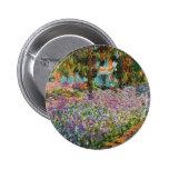 Iris en el jardín de Monet Pins