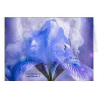 Iris en el Moonlite ArtCard Tarjeta