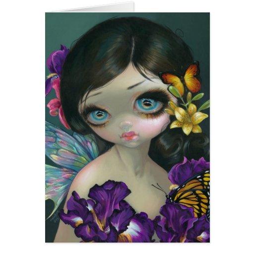 """Iris Enchantment"" Greeting Card"