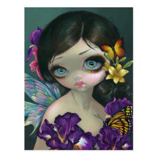 """Iris Enchantment"" Postcard"