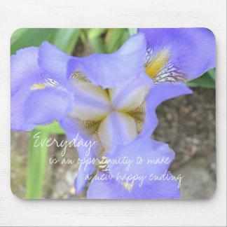Iris extraordinario alfombrilla de ratón