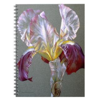 Iris fine art notebook