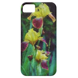 Iris Floral Impressionist Art Painting iPhone Case iPhone 5 Cover