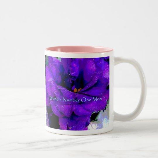 Iris floral Mother's day Mug