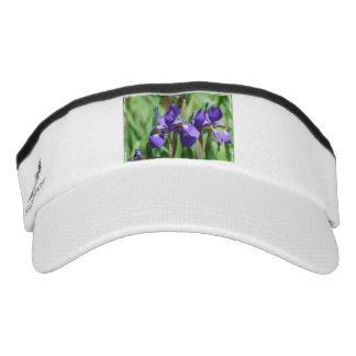 Iris floreciente viseras de alto rendimiento