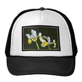 Iris Flower Cap Trucker Hat