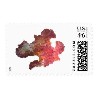 iris flower digital image postage