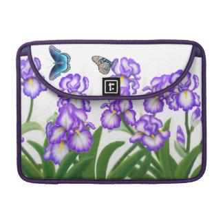Iris Flower Garden Rickshaw Flap Sleeve