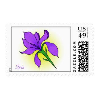 Iris Flower -stamps Postage