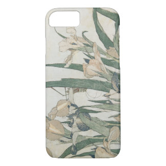 Iris Flowers and Grasshopper, c.1830-31 iPhone 8/7 Case