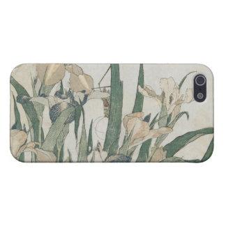Iris Flowers and Grasshopper, c.1830-31 iPhone SE/5/5s Case