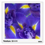 Iris flowers wall skin
