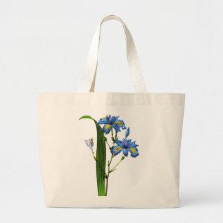 Iris Frangee by Joseph Pierre Redoute Canvas Bags