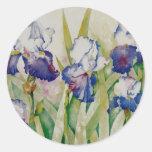 iris garden 2 sticker