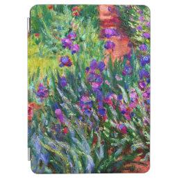 Iris Garden Flowers Claude Monet Fine Art iPad Air Cover